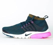 Nike Wmns Air Presto Flyknit Ultra - Midnight Turqouise / Olive Flak - Pink Blast