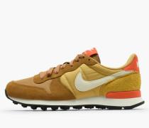 Nike Wmns Internationalist - Muted Bronze / Summit White - Wheat Gold