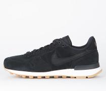 Nike Wmns Internationalist SE - Black / Black - Deep Green - Gum Light Brown