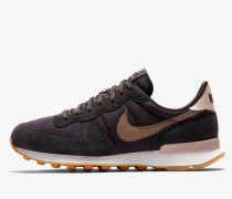 Nike Wmns Internationalist - Oil Grey / Mink Brown - Summit White