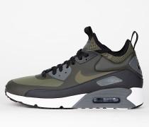 Nike Air Max 90 Ultra Mid Winter - Sequoia / Medium Olive - Black - Dark Grey