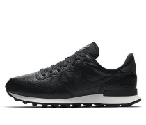 Nike Wmns Internationalist Premium - Black / Black - Summit White