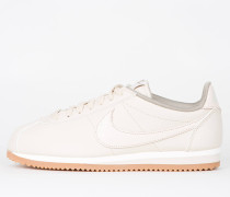Nike Wmns Classic Cortez Leather Lux - Oatmeal / Oatmeal - Sail - Gum Med Brown