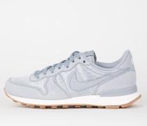 Nike Wmns Internationalist - Wolf Grey / Wolf Grey - Sail - Gum Med Brown