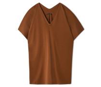T-shirt - Rostrot