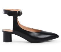 Sandalen mit Absatz - Schwarz