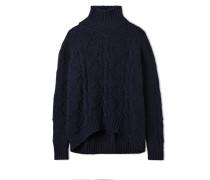 Pullover mit Rollkragen - Dunkelblau