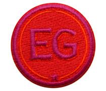 Label INITIALEN · 4cm · rot/pink