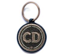 Schlüsselanhänger INITIALEN grau/metallic - Patches & Accessoires: hochwertig bestickt