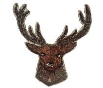 Label Deer - Patches & Accessoires: hochwertig bestickt