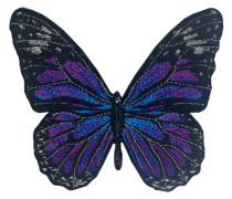 Label Schmetterling - Patches & Accessoires: hochwertig bestickt
