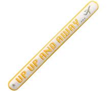 KOFFER PATCH: Up Up And Away · weiß Patches & Accessoires: hochwertig bestickt