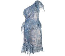 One-Shoulder-Kleid - Blau