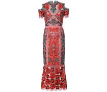 Kleid mit Spitze - Rosa