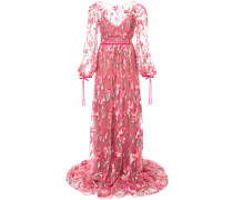 lace-embroidered maxi dress - Rosa & Lila