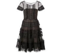 Kleid in A-Linie - Schwarz