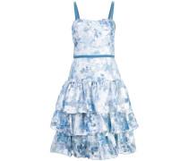 Ausgestelltes Kleid - Blau