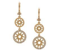 star drop earrings - Gelb & Orange