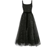 Kleid mit Glitzer - Schwarz