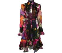 Partykleid mit Blumenmuster - Mehrfarbig
