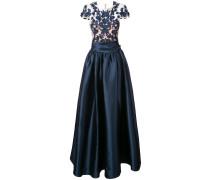 Verziertes Abendkleid - Blau