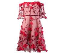 Kleid mit Applikationen - Rot