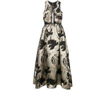 Kleid mit Spitze - Schwarz