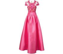Verziertes Abendkleid - Rosa