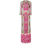 embroidered floral dress - Rosa & Lila