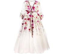 Ausgestelltes Abendkleid - Weiß