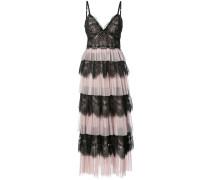 Kleid im Lagen-Look - Rosa