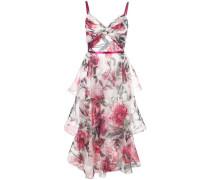 Ärmelloses Kleid - Weiß