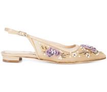 'Deandra' Schuhe - Nude