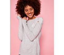 Pullover mit Spitzendetail
