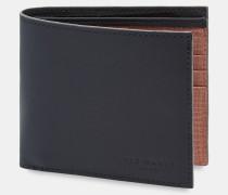 Leder-Portemonnaie im Gummierten Look