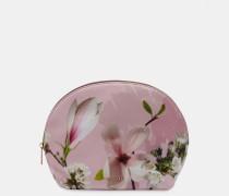 Große Kuppelförmige Kosmetiktasche mit Harmony-Print