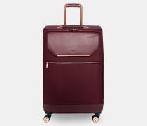 Großer Koffer mit Metalldetails