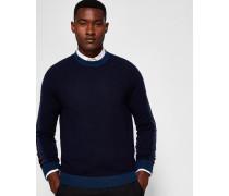 Pullover aus Wollgemisch in Blockfarben