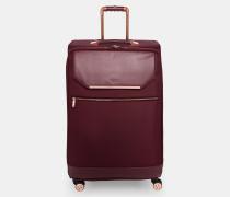 Großer Koffer Mit Metallborte