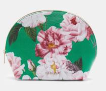 Kuppelförmige Kosmetiktasche mit Iguazu-Print