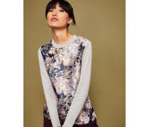 Pullover mit Eloquent Jacquard-Print