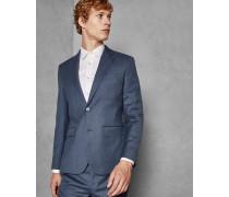 Enge Debonair-Anzugjacke aus Wolle