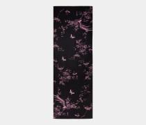 Langer Schal mit The Orient-Print