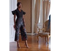 Culotte-jumpsuit Mit Opulent Fauna-print