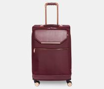 Mittelgroßer Koffer mit Metalldetails
