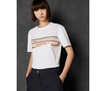 Baumwoll-T-Shirt mit Logo