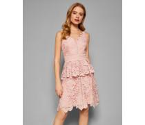 Kleid mit Spitzenschößchen