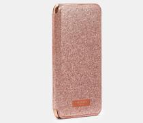 Iphone Xs Max-Hülle mit Glitzereffekt