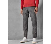 Golf-Hose mit Zweifarbigem Karomuster