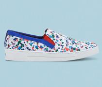 Sneakers mit Paint Splash-Print
